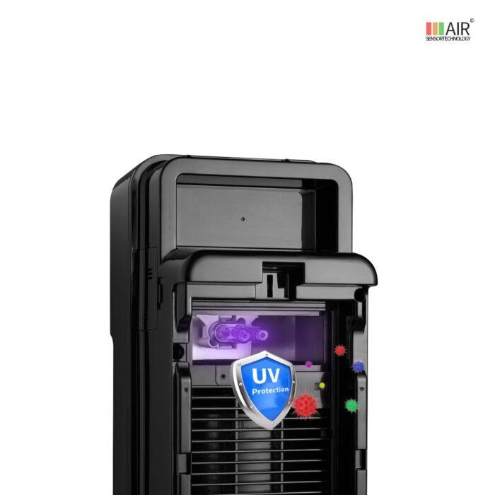 Luftreiniger met UV-C filter